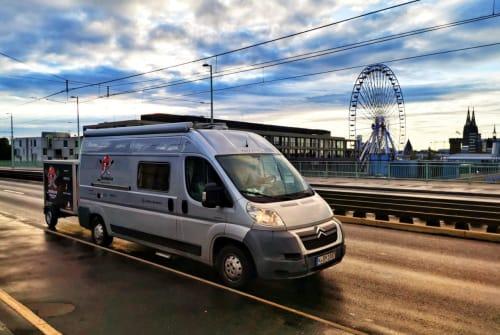 Buscamper Bavaria Camp - Citroen Jumper Likedeeler in Köln huren van particulier