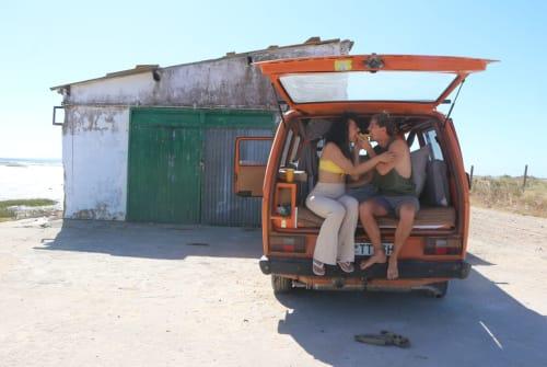 Kampeerbus vw Flocke der Bus in Lisbon huren van particulier