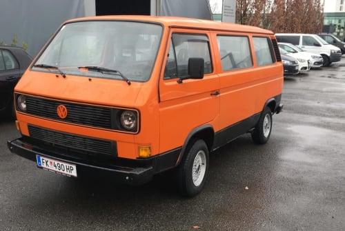 Kampeerbus VW Gerda in Feldkirch huren van particulier