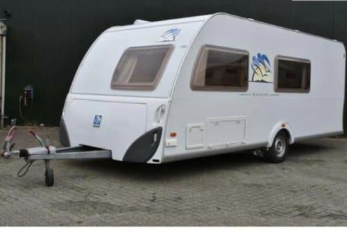 Caravan Knaus Knaus Sudwind in Zoetermeer huren van particulier