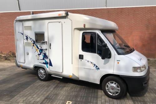 Halfintegraal Detlheffs Dethleffs Bus in Capelle aan den IJssel huren van particulier