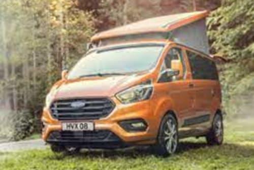 Kampeerbus Ford  Golden Nugget in Murr huren van particulier