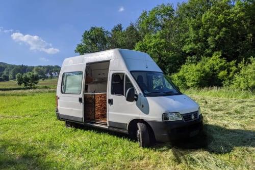 Kampeerbus Fiat Frieda in Hersbruck huren van particulier