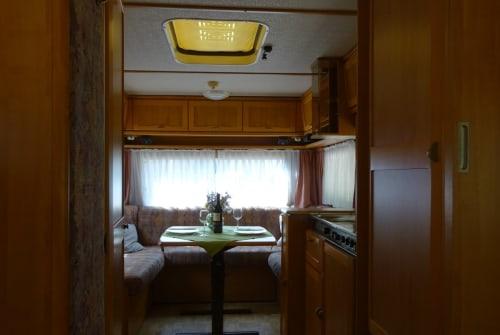 Caravan Hymer Eriba  Conny in Michelfeld huren van particulier