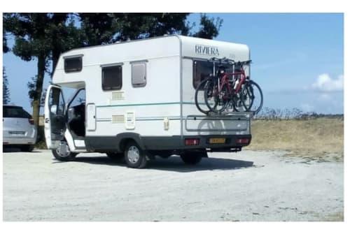 Alkoof Ford Transit 1.8 diesel le_campert in Gouda huren van particulier