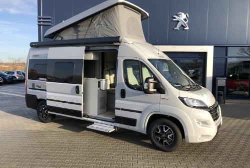 Buscamper Hymercar Timon in Schkeuditz huren van particulier