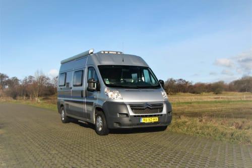 Kampeerbus citroen Luxe BUS CAMPER in Egmond aan Zee huren van particulier