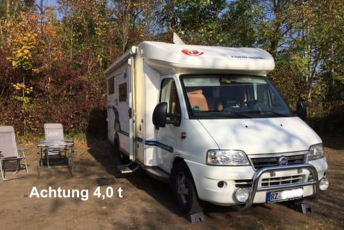 Halfintegraal Euramobil Robby in Dassendorf huren van particulier