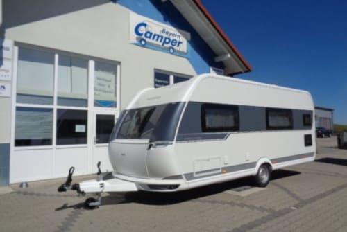 Caravan Hobby  Hobby 540 KMFe in Moosdorf huren van particulier