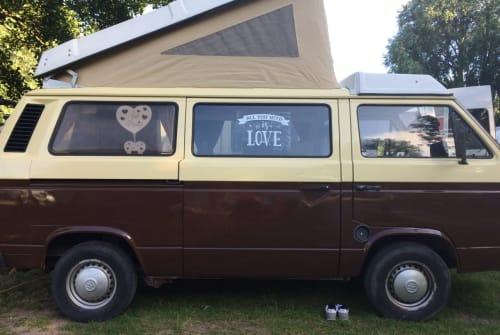 Kampeerbus VW T3 Wooly in Erlensee huren van particulier