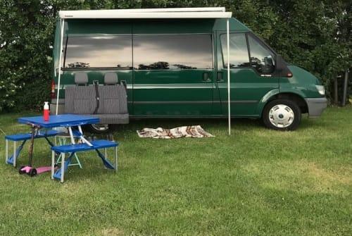 Buscamper Ford Fijne camper in Naarden huren van particulier