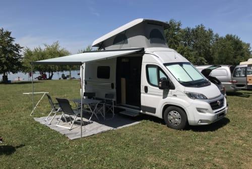 Buscamper Hymer NuNu in Blaustein huren van particulier