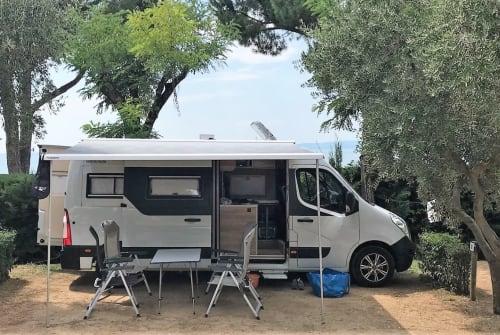 Buscamper Opel Movano Momento in Bad Brückenau huren van particulier