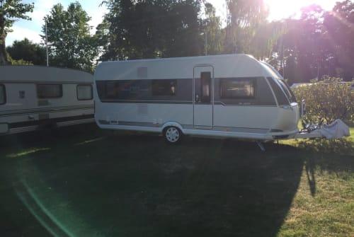 Caravan Hobby Nala in Dolberg huren van particulier