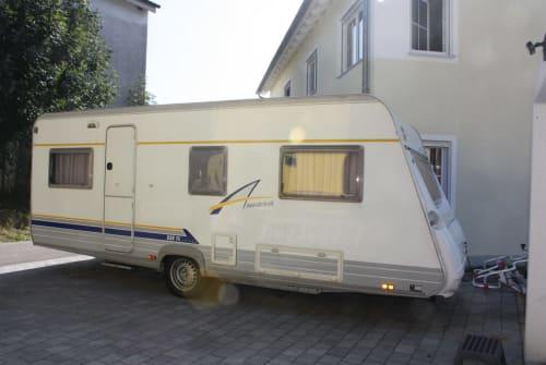 Caravan Bürstner Lloyd in Igling huren van particulier