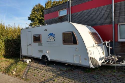 Caravan Knaus  Südwind 500 in Essenheim huren van particulier