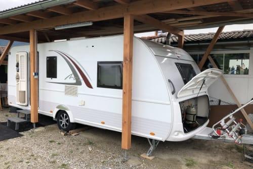 Caravan Bürstner Bürsti in Halblech huren van particulier