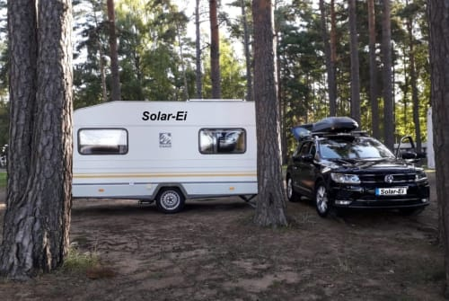 "Caravan Knaus ""Solar-Ei"" in Mannheim huren van particulier"