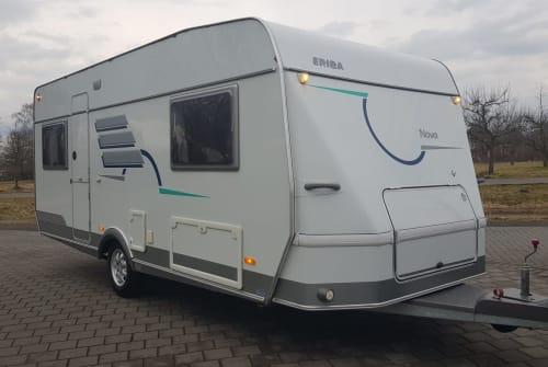 Caravan Hymer  Eriba 530 in Rostock huren van particulier