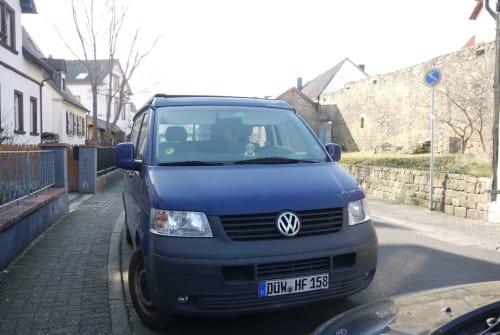 Kampeerbus VW T5 TDI Campmobil in Wachenheim an der Weinstraße huren van particulier