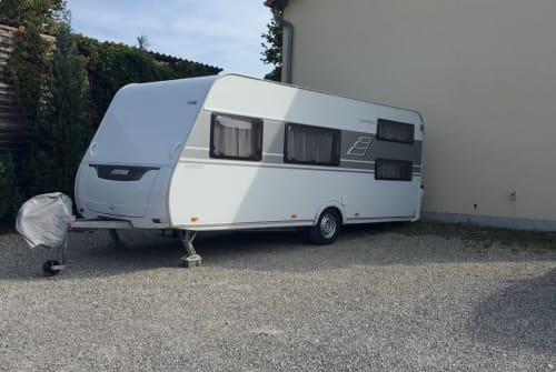 Caravan Hymer Eriba Glam-per für 5 in Haldenwang huren van particulier