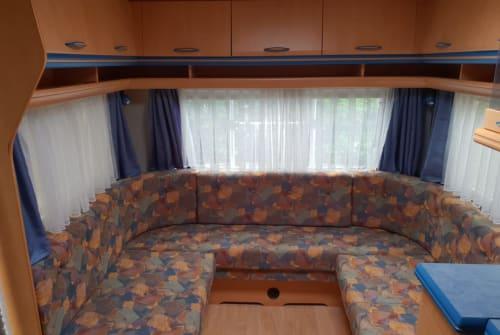Caravan HOBBY Anthonie in Zoutelande huren van particulier