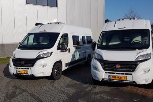 Buscamper Livingstone Duo Livingstone Duo in Schagerbrug huren van particulier