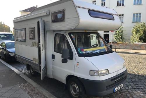 Alkoof Fiat Ducato Didi (Autogas) in Leipzig huren van particulier