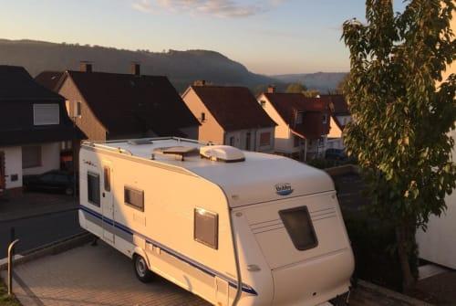 Caravan Hobby Carl in Warburg huren van particulier