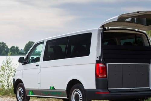 Kampeerbus VW VWT6 Campingbus in Parsberg huren van particulier