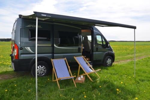 Buscamper Pössl Pössl AG 134 in Schramberg huren van particulier