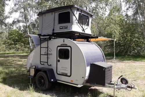 Caravan Hero Camper Rangers Home in Dresden huren van particulier