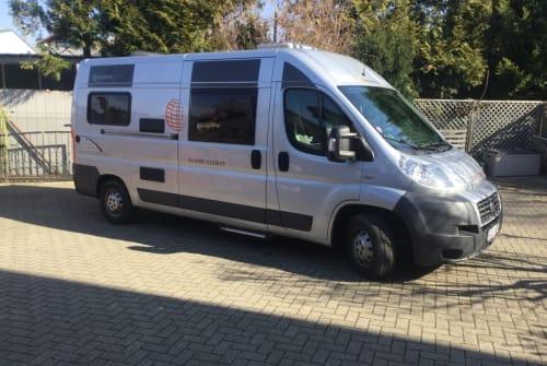 Buscamper Fiat Ducato FRED in Bad Krozingen huren van particulier
