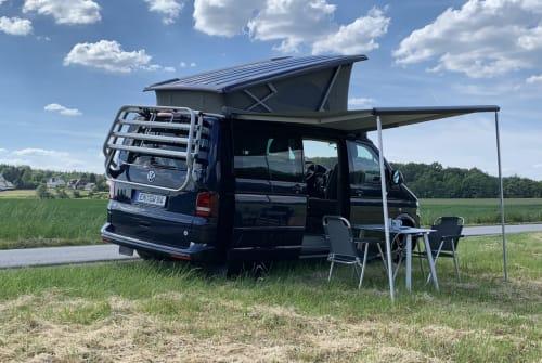 Kampeerbus VW CaliBlue in Wetter huren van particulier