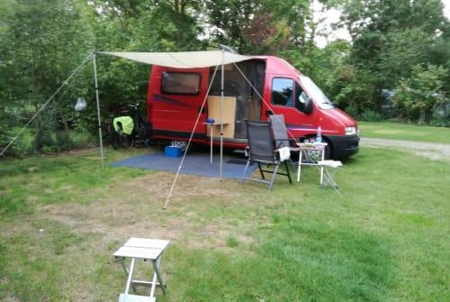 Buscamper Citroën Jumper Camper in Deventer huren van particulier