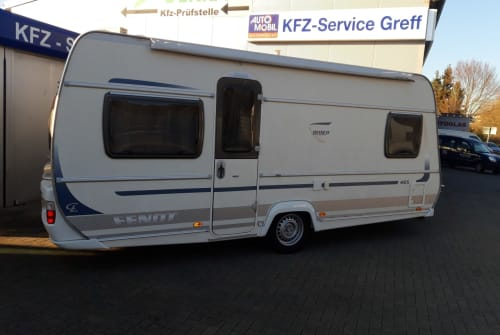 Caravan Fendt Bianco Nikki 1 in Gründau huren van particulier