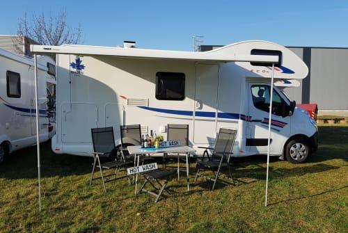 Alkoof Ahorn Camp AllinCamper 680 in Hünxe huren van particulier