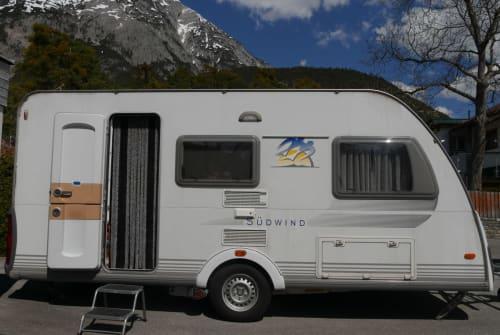Caravan Knaus Endeavour in Telfs huren van particulier