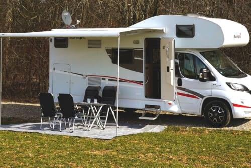 Alkoof Sunlight Bavarian Camper in Vaterstetten huren van particulier