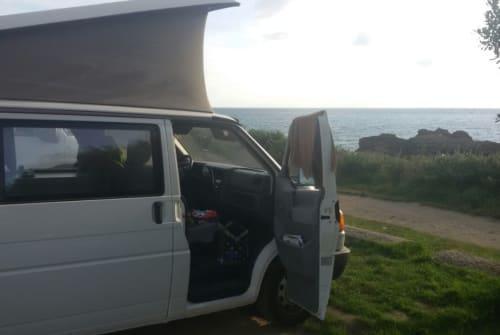 Kampeerbus Volkswagen Go Ride in Nalbach huren van particulier