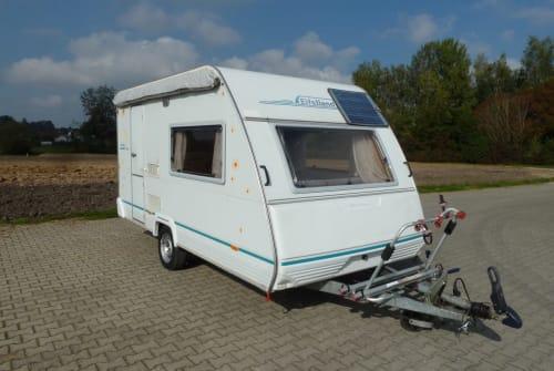 Caravan Eifelland ReiseTraumWagen in Hohentengen huren van particulier