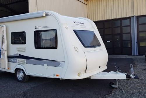 Caravan Hobby 440SF Rose I in Schwarzautal huren van particulier