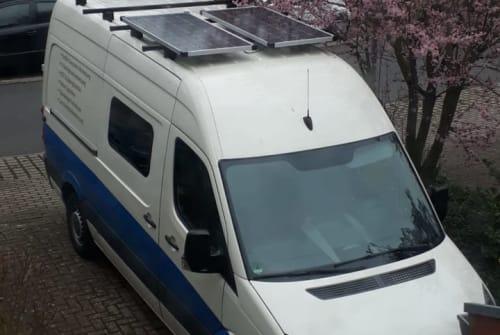 Buscamper VW Kit Wolken... in Berlin huren van particulier