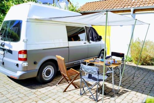 Kampeerbus VW OWL Otto  in Bielefeld huren van particulier