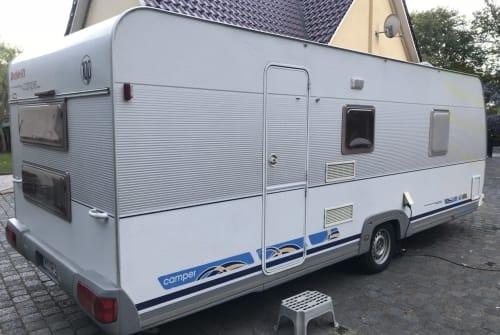Caravan Dethleffs Ostseecamper in Plate huren van particulier