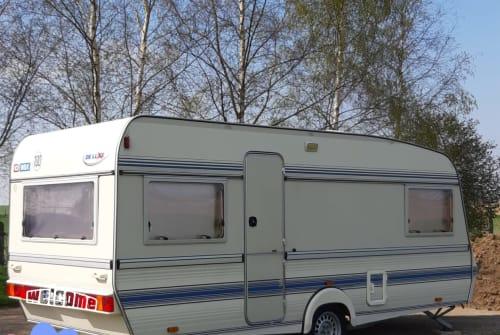 Caravan Wilk de Luxe  Erna in Malsfeld huren van particulier