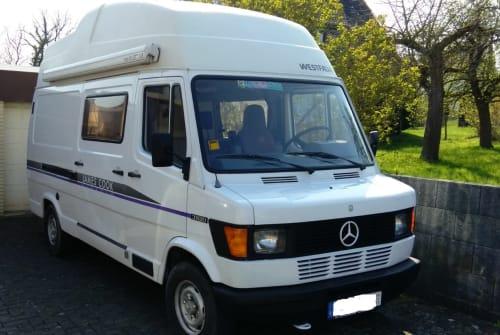 Buscamper Mercedes Westfalia Big Jim in Arnsberg huren van particulier