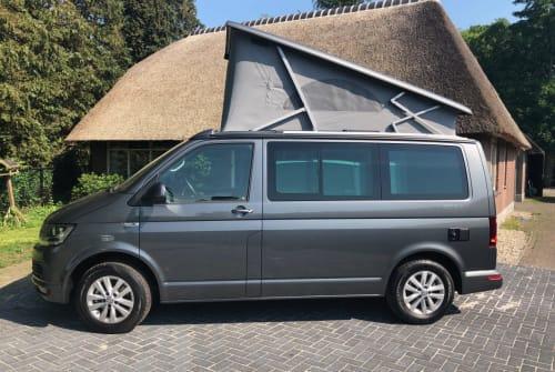 Buscamper Volkswagen T6 Vw Calif aut in Dalen huren van particulier