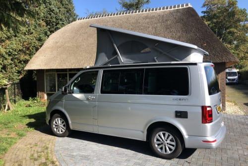 Buscamper Volkswagen T6 VW T6 Aut in Dalen huren van particulier