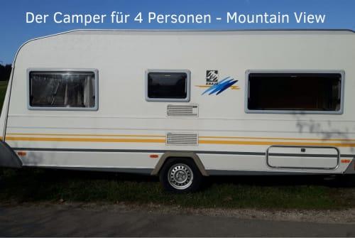 Caravan Knaus Mountain View in Fuchstal huren van particulier